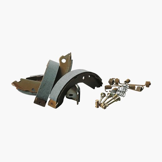 Handbrake shoe set