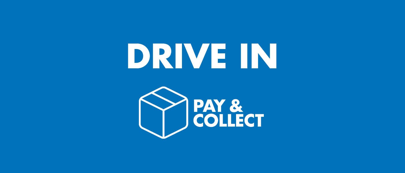 How does Pay & Collect Drive In work?